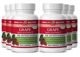 Support Strong Bones Capsules - Grape Seed Extract 90% 150mg - Resveratr... - $57.93