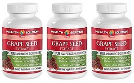 New Unique Dietary Supplement - Grape Seed Extract 50mg  (3 Bottles) - $29.88