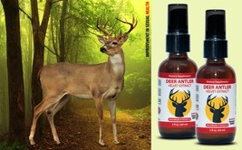 Energy Supplement - DEER ANTLER VELVET SPRAY 2 Bottles (4 fl.oz) 120 ml - $22.40
