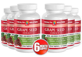 New Unique Dietary Supplement - Grape Seed Extract 50mg  (6 Bottles) - $56.06