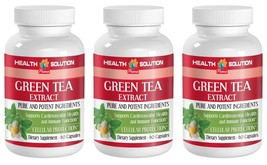 Egcg Extract - 300MG GREEN TEA EXTRACT - Boosts Weight Loss Speed - 3 Bo... - $28.04