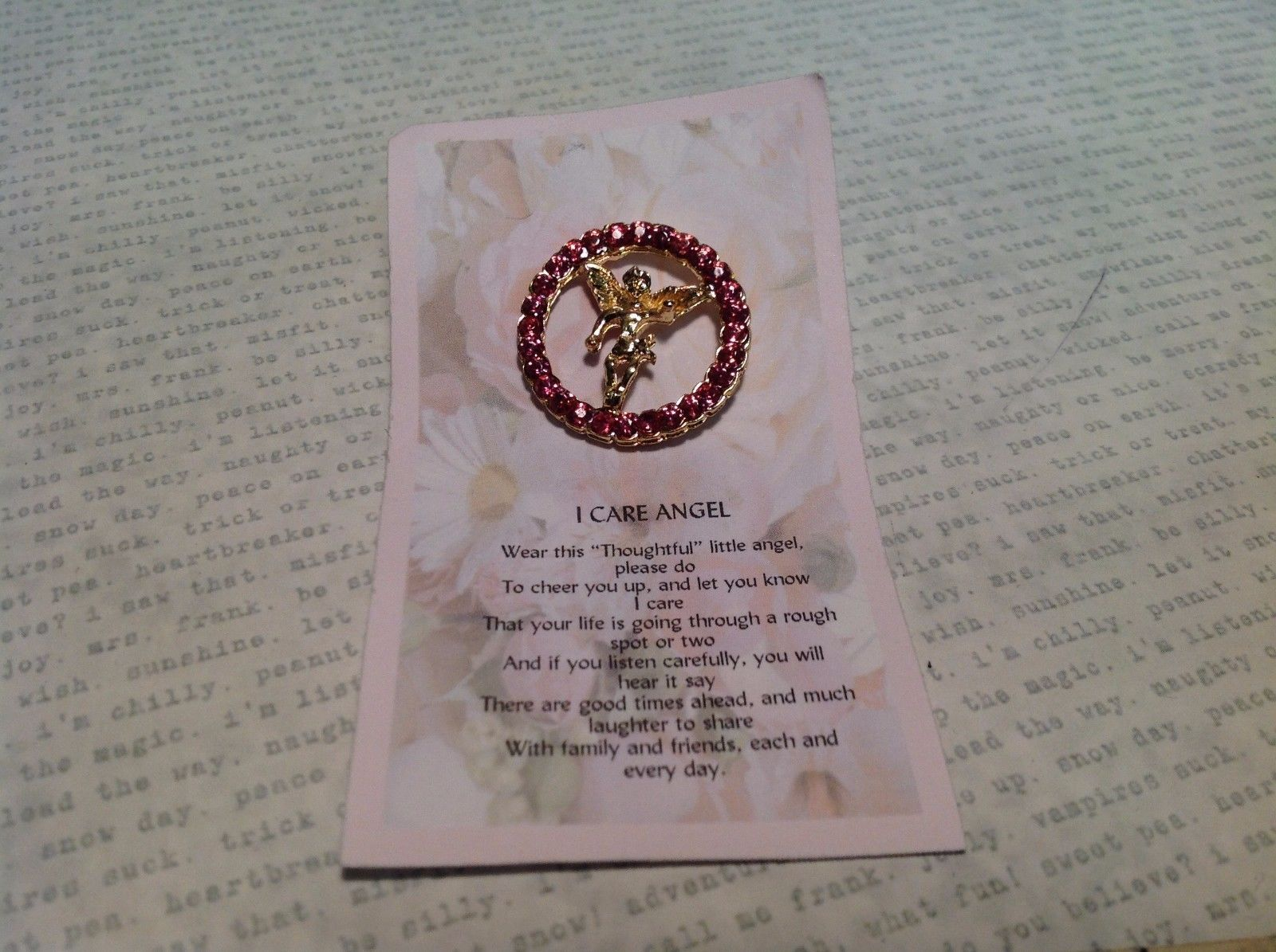 Care Angel Lapel Pin