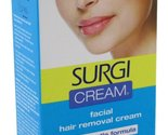 Surgi Cream Hair Remover Face Extra Gentle 1oz Fresh Scent (6 Pack)