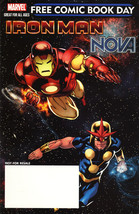 Iron Man/Nova (FCBD) - $1.39