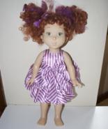 """Fancy Nancy Fabulous Fashionista Doll 18"""" Purpl... - $24.95"""
