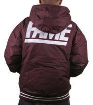 Hall of Fame 2ND Second Sucks Sideline Burgundy Hooded Parka Jacket NWT image 4