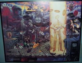 "THE BEATLES ""REQUIEM"" ORIGINAL ART POSTER PRINT JOHN LENNON, PAUL McCARTNEY - $16.70"