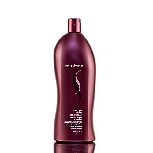 Senscience True Hue Violet Conditioner - For Toning Blonde - 33.8 oz