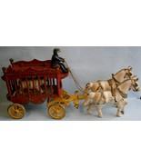 Vintage Cast Iron Horse Drawn Circus Wagon Toy ... - $193.05