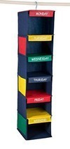 DAILY ACTIVITY ORGANIZER - 6 SHELF HANGING CLOS... - $14.47