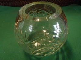 Beautiful CRYSTAL Cut Glass BOWL - $6.52