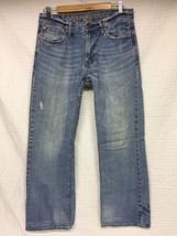 VGUC Men's AMERICAN EAGLE Low RiseBootcut Jeans 31xx32 Light Wash  AE - $29.95