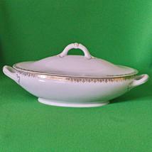 Antique (1902-1910) Adolf Persch (Austria) Large Porcelain Lidded Tureen - $12.95