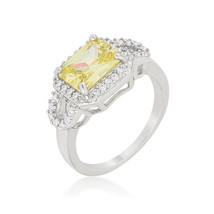 Radiant Cut Halo Ring - $19.00