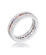 Paula 1.75ct Multicolor CZ Classic Band Ring - $25.00