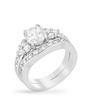 Triple Stone Engagement Set - $32.00