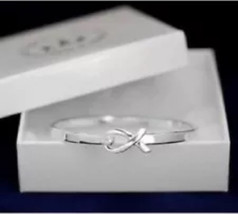 Generic Cancer Ribbon Bracelet  Support Awareness  Bangle - $10.95