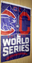 Chicago Cubs World Series Champions 3 X 5 Feet  Flag Banner MLB Baseball... - $15.95