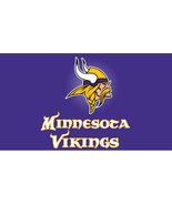 Minnesota Vikings 3 X 5 Feet  Flag Banner NFL Football Fan - £11.23 GBP
