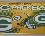 Green Bay Packers Banner Flag 3 x 5 feet with grommets for hanging American NFL