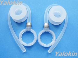 2 White Earhooks and Earbuds for Motorola Elite Flip HZ720 H17 H17txt - $13.71