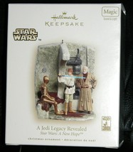 2008 Hallmark Star Wars Jedi Legacy Revealed Ornament Light & Sound NEW ... - $64.99