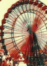 Ferris Wheel 1902 St. Louis World's Fair fantasy art 5 x 7 photo print - $1.88