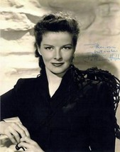 KATHERINE HEPBURN autographed REPRINT 5 X 7 Kate lovely Christmas gift - $4.65