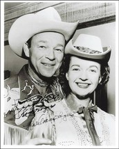 Roy Rogers Dale Evans glossy new  autographed reprint 5 x 7 - $4.65