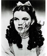 Judy Garland Dorothy autographed 5 x 7 reprint Wizard of Oz publicity re... - $4.65