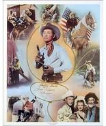 Roy Rogers Dale Evans horse Trigger autographed Happy Trails 5 x 7 print - $4.65