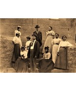 African American 1899 family reunion black history new 5 x 7 reprint - $4.65