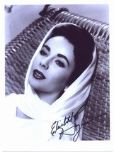 Elizabeth Taylor autographed glossy new reprint 4 x 6 - $3.79