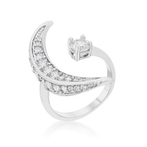 CZ White Gold White Gold Delicate Ring - $14.99