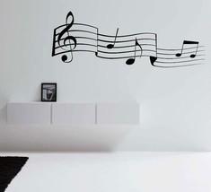 Music Notes Vinyl Wall Art - $14.70