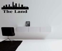 The Land Cleveland Ohio Skyline Vinyl Wall Decal - $14.70+