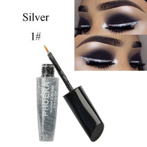 BAHYHAQ - Silver Natural Makeup Metallic Shiny Eyes Eyeshadow Waterproof - $2.04