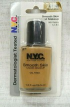 Nyc New York Color Smooth Skin Liquid Foundation ~673B Spiced Beige ~ 1 Fl Oz!! - $10.34