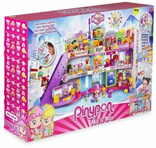 Pinypon Super Centre Commercial With Light And Sound 1 2 Children Pet - $371.45