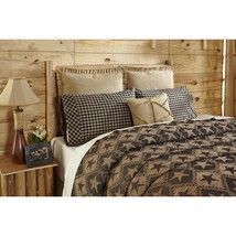3-pc Queen - Jefferson Star -VHC BRANDS- Chenille Woven Coverlet - Pillow Cases