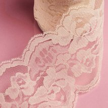 10 Yards Ivory Barbie Lace Ribbon 4 Inch - $24.49