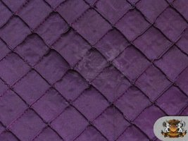 """Taffeta Pintuck 2 Inches Fabric PURPLE / 58"""" Wide / Sold by the yard - $11.71"""