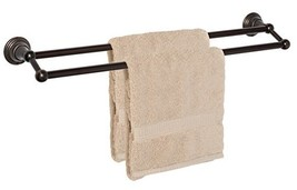 "Dynasty Hardware 2216-ORB Muirfield 24"" Double Towel Bar Oil Rubbed Bronze - $41.93"