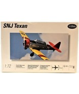 """North American Snj Texan 1:72 Airplane Model 7"""" Wing Span Skill Level 2 ... - $12.86"""
