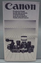 Vintage Canon Camera Products Guide dq - $24.74