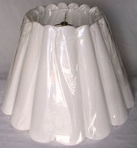 Scallop Fluted Pleated Lamp Shade USA Made in America by Lamp Shade Pro ... - $49.49