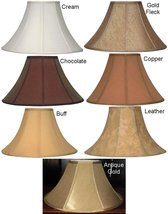 """Coolie Bell Lamp Shades by Lamp Shade Pro 16-24"""" Wide Finest Quality Sil... - $108.89"""