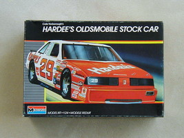 SEALED in BOX Cale Yarborough's Hardee's Oldsmobile Stock Car by Monogra... - $10.99