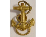 Wwii u.s navy officer cadet vanguard anchor screwback hat badge insignia vintage thumb155 crop
