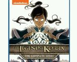 The Legend of Korra: The Complete Series Blu-ray, 2016, 8-Disc Set